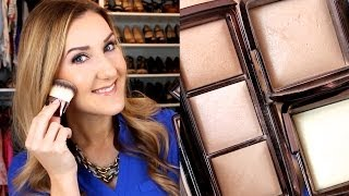 Hourglass Ambient Lighting Powder Demo & Review: HIGHLIGHT/GLOWING SKIN