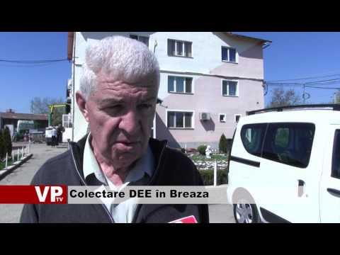 Colectare DEE în Breaza