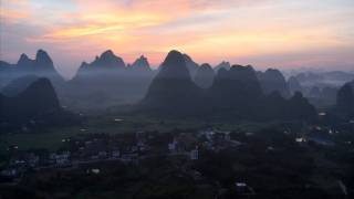Video : China : Hot-air ballooning near YangShuo 阳朔