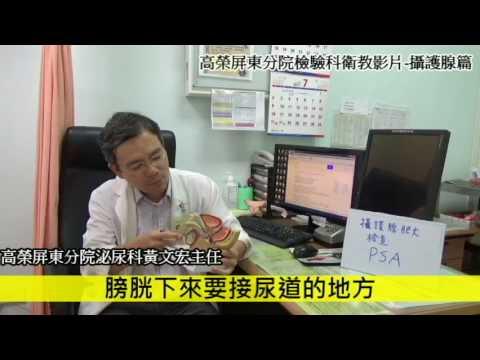 攝護腺肥大簡介(台語版)