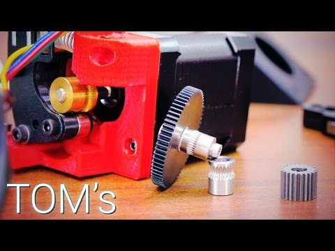 Build your own 3D Printer: Everything about extruders!