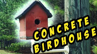 Let's Make a Quikrete Concrete Birdhouse | How To