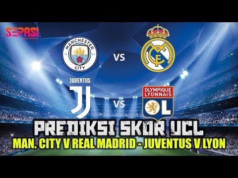 Siapa Yang Akan Ke 8 Besar ?? Manchester City vs Real Madrid Dan Juventus vs Lyon | SEPASI