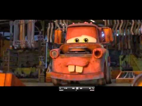 Cars 2 French Car In Market Scene, Eyes On Headlights