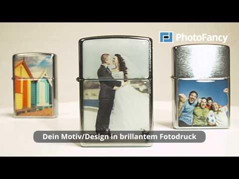PhotoFancy - Zippo® Feuerzeug mit eigenem Foto