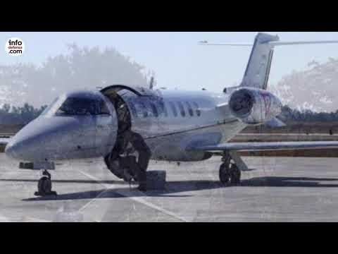 Mueren seis militares al estrellarse un avión Learjet 45 de la Fuerza Aérea Mexicana