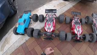 """Arrma Outcast 6s """"Up In Smoke!!!"""" ESC Fire With Kraton 6s, Tekno EB48SL, And Truggified Typhon"""