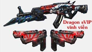 Truy Kích  AK47 Dragon SVIP & DE Hoả Ngục Vs Zombie
