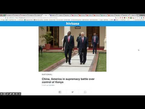 US and China Battle Over Kenya