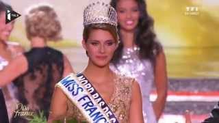 Miss France 2015 Camille Cerf crowning moment
