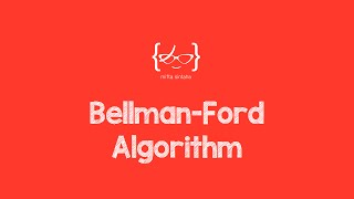 Bellman-Ford Algorithm with Example