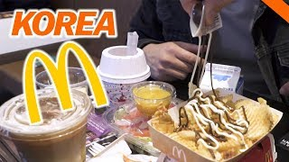 EATING AT KOREAN McDONALD'S IN SEOUL // Fung Bros World Tour