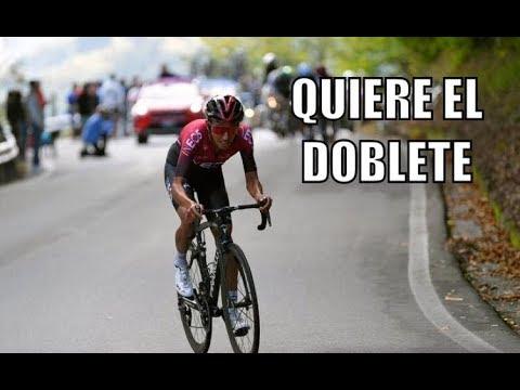 """Egan Bernal: """"Me gustaría correr el Giro y luego el Tour"""""""