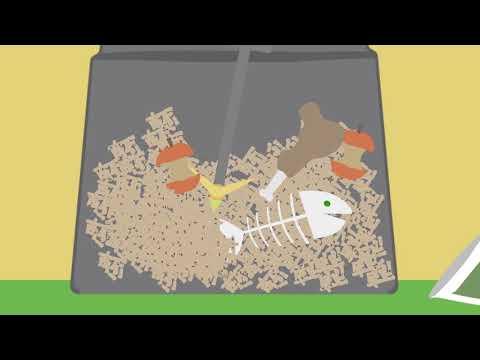 Greenline Master kompostbinge 375 L - film på YouTube