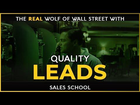 Quality Leads   Free Sales Training Program   Sales School - YouTube
