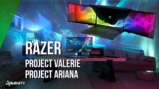 Project Valerie: un portátil con tres pantallas 4K