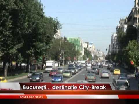 Bucureştiul, o nouă destinaţie city break – VIDEO