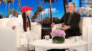 Young Hip Hop Dancer Amy Shows Ellen Her Moves