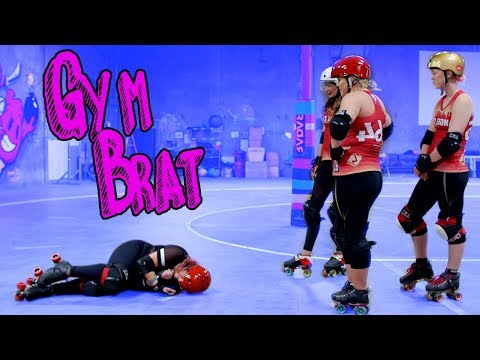 I Tried Roller Derby For Leg Day... OUCH // Gym Brat | Snarled