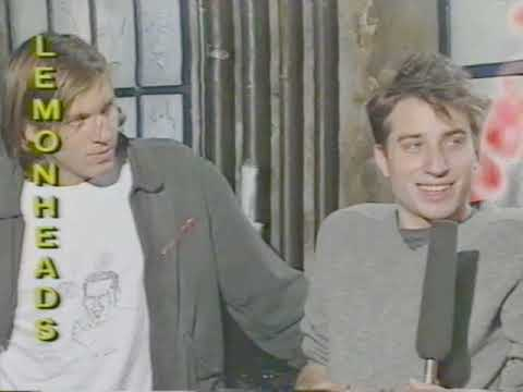 Interview: Lemonheads / Evan Dando & Jesse Peretz talk with Che - 06.1988