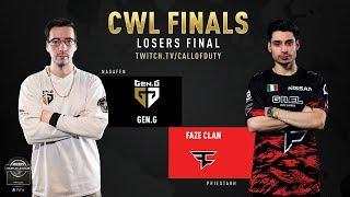 Gen.G vs FaZe Clan | CWL Finals 2019 | Day 3