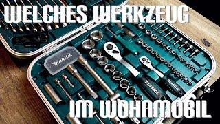 Welches Werkzeug soll ins Wohnmobil
