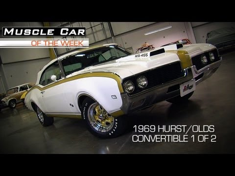 1969 Hurst Oldsmobile Convertible Muscle Car Video