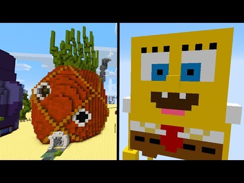 Minecraft Mods: Minecraft SPONGEBOB MOD