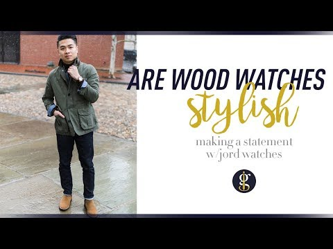 Are Wood Watches Stylish? | JORD Watch Dover Series Review