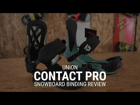 2019 Union Contact Pro Snowboard Binding Review- Tactics