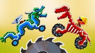 DRIVE AHEAD #14 БИТВА на ТАЧКАХ МАШИНАХ ДРАКОНАХ Мультик как игра для детей Разбей голову противнику