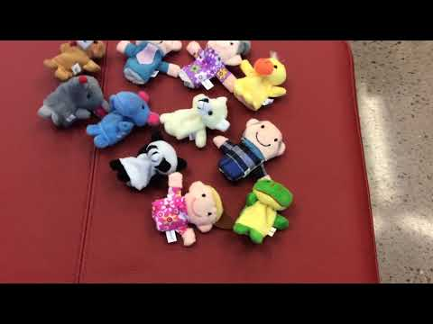 Tanga 16-piece Set Story Finger Puppets For Kids