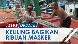 Gerakan Mobile Masker BNPB di Bitung, Tenaga Ahli & Puluhan Relawan Keliling Bagikan Masker Gratis