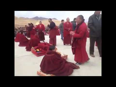 H.E. Denma Gonsa Rinpoche's Enthronement in Gonsa Monastery