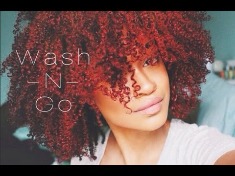 ❀ How to   My Curly Defined Wash n Go Routine Tutorial ❀   Bri Hall