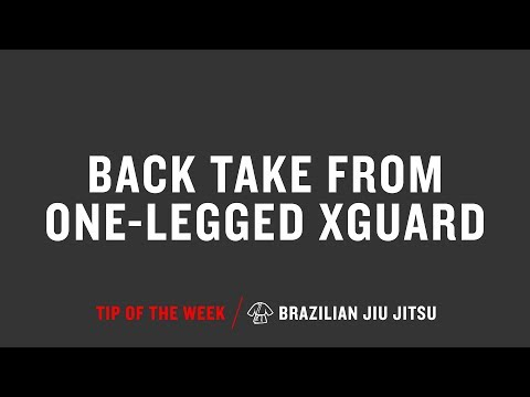 Back Take From One Legged Xguard