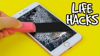 WEIRD LIFE HACKS TESTED