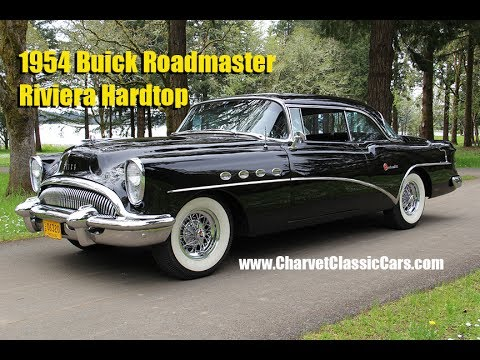 Video of '54 Roadmaster Riviera Hardtop. FACTORY A/C! - LA9M