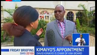 President Kenyatta appoints former IG David Kimaiyo as non-executive chair of KNH