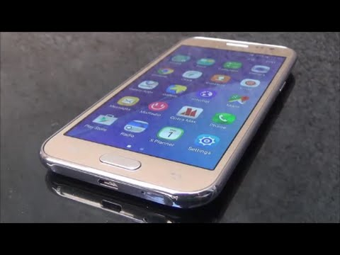 Samsung Galaxy J2 4G Gold Full Review and Unboxing