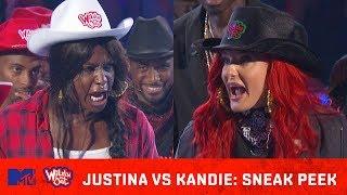 Justina Valentine Heats Up the Ring w/ Kandie 🔥| Wild