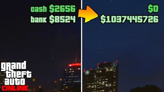 Fastest way to get to $1,000,000 Solo | Broke to Billionaire #1 GTA 5 Online
