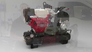 VMAC 30 CFM Gas Driven Air Compressor Demo Video