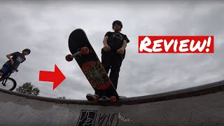 Santa Cruz Red Dot 8.0 Skateboard Complete Review! (Is it worth buying?)