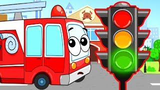 Развивающие Мультики про Машинки - Монстр Трак Эвакуатор и Трактор - Все Серии Мультик для Детей