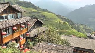 Video : China : A visit to the LongJi (Dragon's Backbone) rice terraces 龙脊梯田 - video