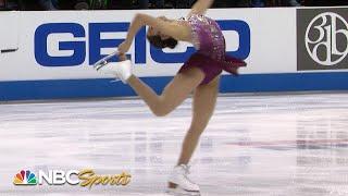 Karen Chen impresses in short program at US Nationals I NBC Sports