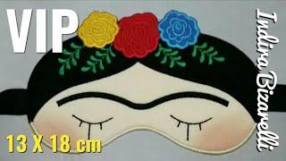 DIY: Máscara da Frida