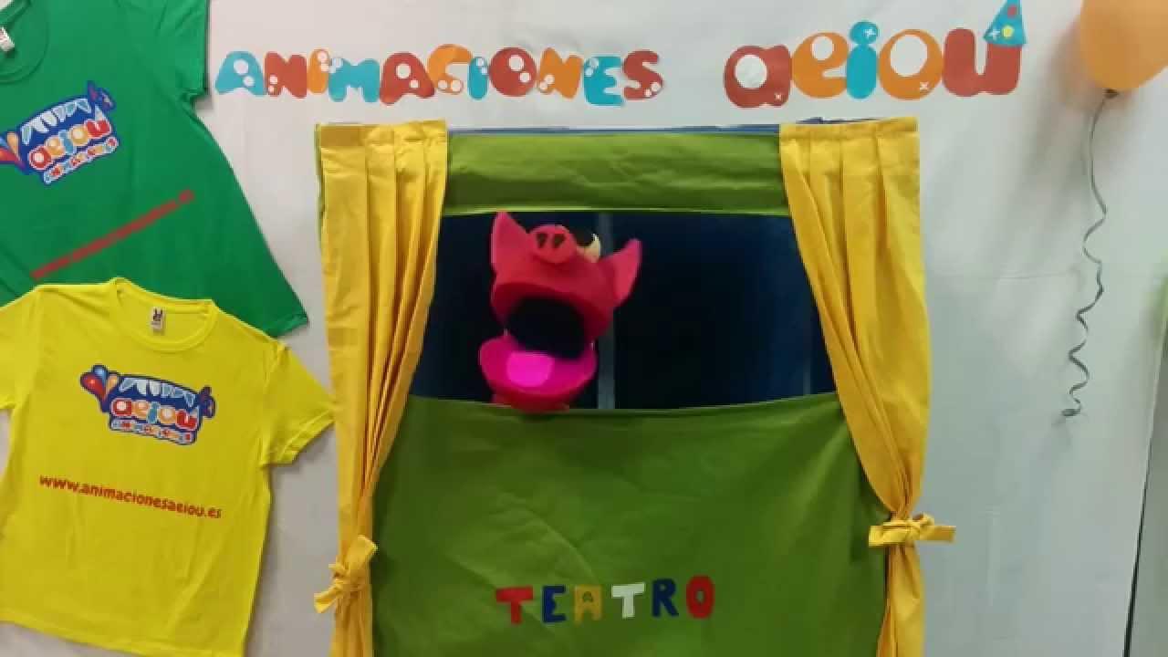 Títeres de goma espuma para niños: marionetas infantiles