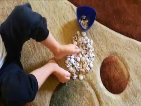 Koślawego masaż stóp